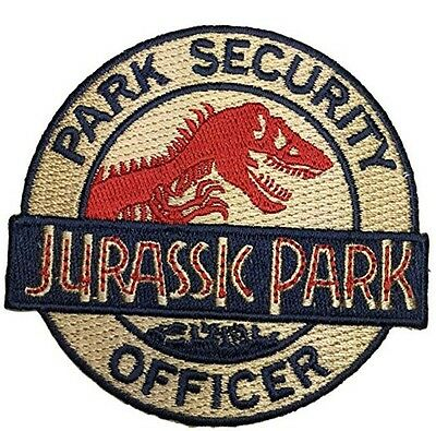 Jurassic Park Ranger Security Officer Logo IRON ON Patch