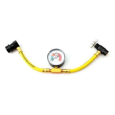 R134a Refrigerant Recharge Hose Can Tap Car Air Conditioning Pressure Gauge Hot