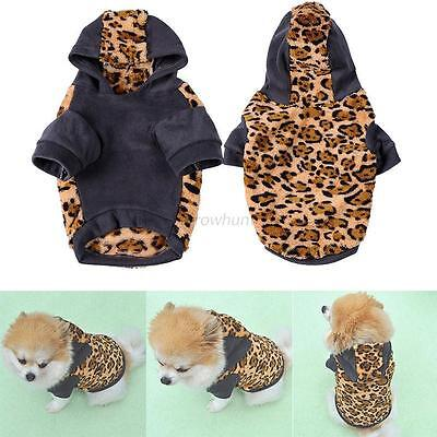 Cute Pet Dog Cat Puppy Sweater Hoodie Coat For Small Puppy Warm Costume Apparel