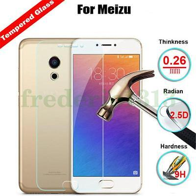 For Various MEIZU Tempered-Glass Film Screen Protector Cover Guard Shield Supper