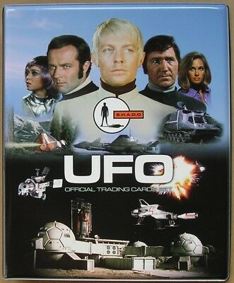 UFO Trading Cards Binder with 54 Card Base Set + 9 Card Chase Set + Binder Pages