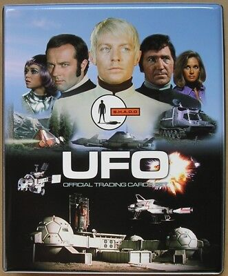 UFO Trading Cards Binder with Full 54 Card Base Set + Binder Pages