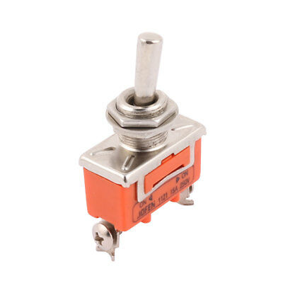 250V 15A ON/ON 2 Position 3 Terminals SPDT NO Toggle Switch Latching