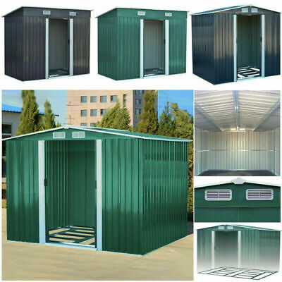 Forward Order New Metal Garden Shed 6 X 4, 8 X 4, 8 X 6, 10 X 8 Garden Storage