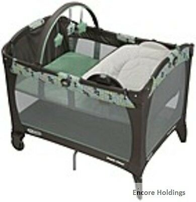 Graco Baby 1885392 Pack 'n Play Element Playard with Napper and Changer - Ottawa