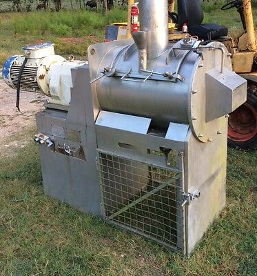 5 Cubic foot Stainless Steel Paddle / Ribbon Food Grade Process Mixer