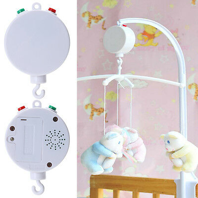 35 Song Rotary Baby Mobile Crib Bed Toy Music Box Hanging Bell Holder New