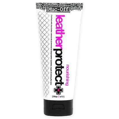 New Muc-Off Motorcycle Bike Leathers Maintenance Cleaning Care Protector 200ml