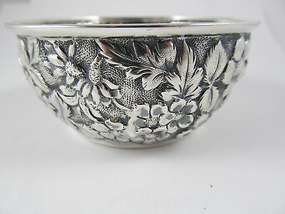 Jenkins & Jenkins Inc Baltimore Sterling Small Bowl Open Sugar Excellent Cond