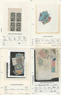 Honduras Collection on Album Pages & Show Sheets, Nice Selection (E)