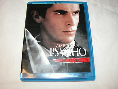 American Psycho Blu-ray Disc 2007 Uncut Edition, Reese Witherspoon Free Ship USA