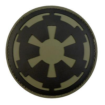 Star Wars Galactic Empire PVC 3D rubber olive drab OD Imperial hook&loop patch