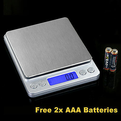 3kg/0.1g Digital Electronic LED Kitchen Weight Scale Blance Food Diet Scales