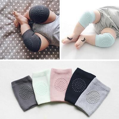 Baby Infant Toddler Kids Soft Anti-slip Safety Crawling Elbow Cushion Knee Pad