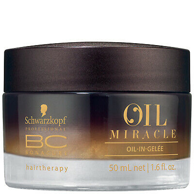 NEW Schwarzkopf BC Bonacure Oil Miracle Oil-In-Gelee 50ml FREE P&P