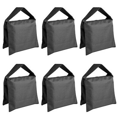 Neewer Black Sand Bag for Photo Video Film Light Stand Tripod(6 Pack)