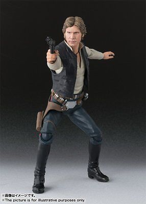 BANDAI S.H.Figuarts Han Solo (A New Hope) Action Figure Star Wars