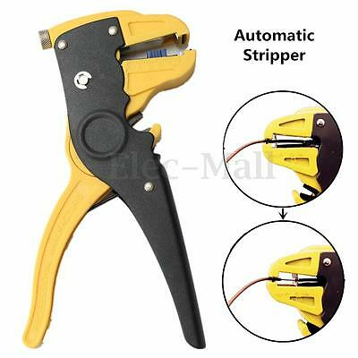 Automatic 0.5-6mm Cable Wire Stripper Stripping Cutter Pliers Crimper Crimping