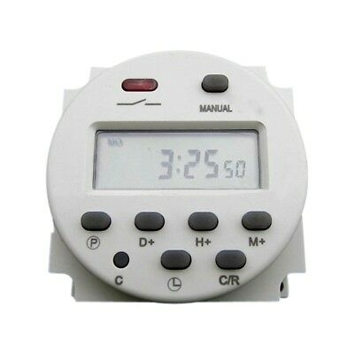 AC220V-240V 16A LCD Digital Programmable Control Power Timer Switch Time Relay S