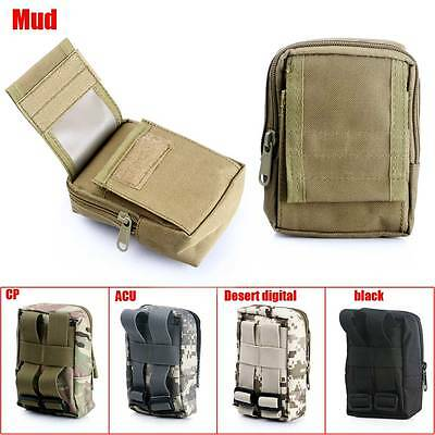 Outdoor Tactical Molle Military Camping Hanging Waist Bag Mini Pocket Fanny Pack