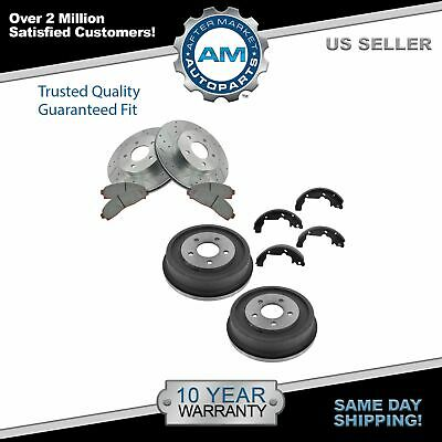 2006 For Saturn Vue Rear Drum Brake Shoes Set Both Left and Right with 2 Years Manufacturer Warranty