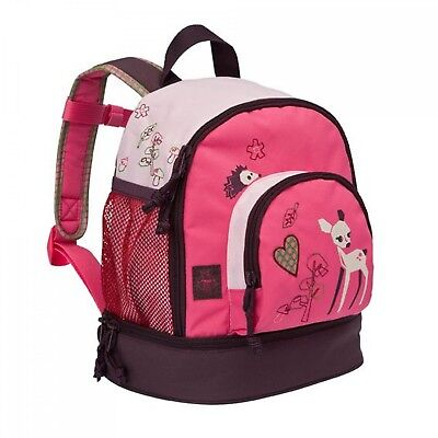 Lässig 4Kids Mini Backpack Little Tree Fox Kinderrucksack Rucksack Pink Fawn