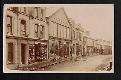 Ammanford - College Road - real photographic postcard