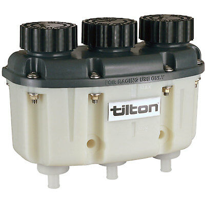 Tilton 72-576 Three Chamber Plastic Reservoir