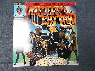 Chuck Chillout & Kool Chip Masters Of The Rhythm LP Mercury 1989