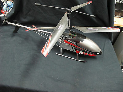 Large R/C Helicopter HAK 738C 2.4Ghz Untested AS-IS No remote control
