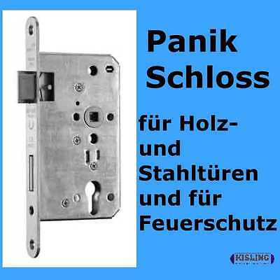 Panic lock 65 Bay lock 9/72 PZ Stulp Nirosta 24 rounded normal Socket Function E