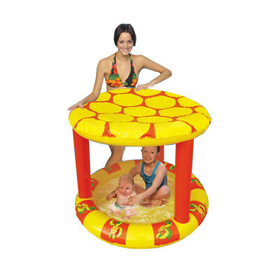 Waterbomb Summer Turtle Roof Sun Shade Inflatable Baby Wade Pool CR2265