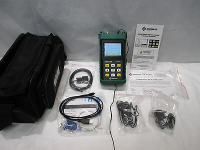 Greenlee 920XC-20M Handheld Multimode OTDR Fiber Optic Line Analyzer Tool