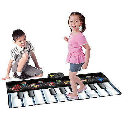Kids Musical Keyboard Piano Dance Playmat 5 Instrument Modes, Record Playback