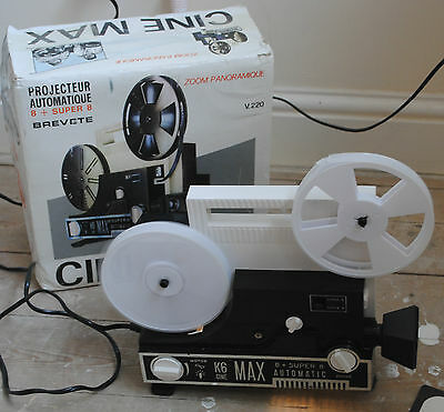 1972 K6 Cinemax Super 8 Project Boxed With Reels