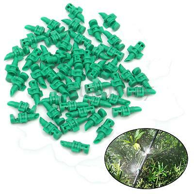50Pcs Micro Garden Lawn Water Spray Misting Nozzle Sprinkler Irrigation System