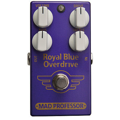 Mad Professor Royal Blue Overdrive Factory Made Pedal NEU NEW