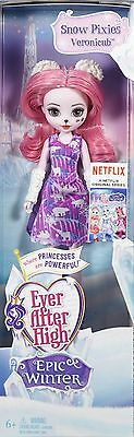 Mattel - Ever After High Epic Winter Pixies - Veronicub - Brand New
