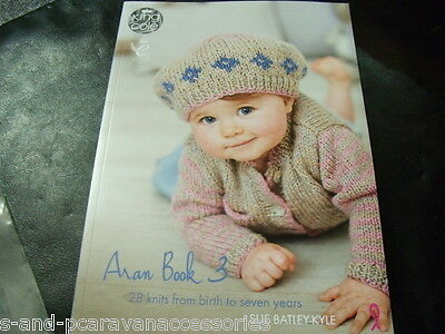 King Cole Aran Book 3, 28 Knits from Birth to 7 Years
