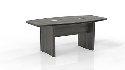 6 Feet Mayline Aberdeen Conference Table Gray Steel Finished