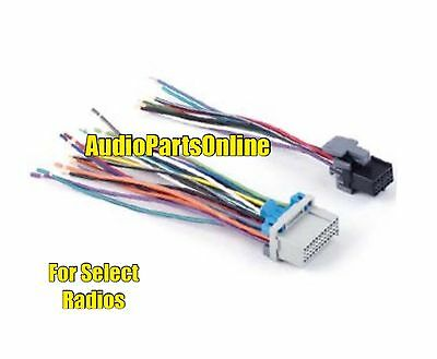 pac aoem gm24 gm add an amp amplifier adapter interface to oem stereo wire harness radio side gm plug plugs into gm oem factory radio connector
