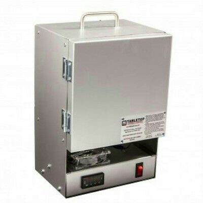 RapidFire Electric Kiln Furnace-2200F 10 Min Melt Gold - Programmable Controller