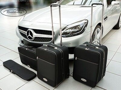 Roadsterbag Koffer Set 4tlg. für Mercedes SLC