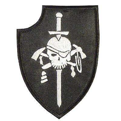 kopfjager silver squadron ST6 DEVGRU embroidered morale touch fastener patch