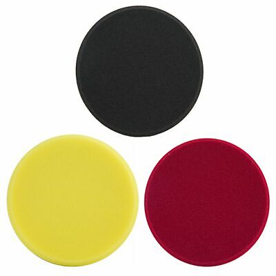 "Meguiar's 5"" Soft Finishing / Polishing / Cutting DA / Rotary Polisher Disc Pads"