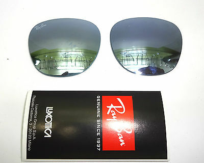 Lenti Originali Ray-Ban Club Master Rb 3016 114530 Mirror Silver Genuine Parts