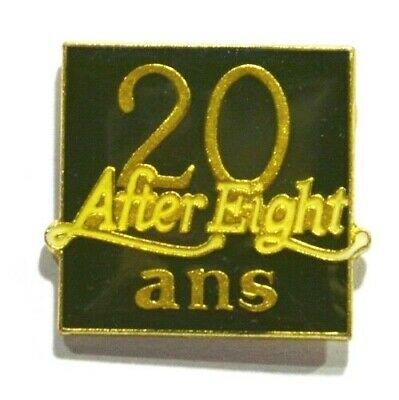 Pins Chocolat After Eight 20 Ans Menthe