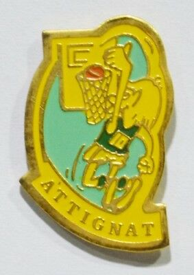 Pins Basket Ball 01 Attignat Ain