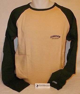 JAMESON WHISKY Tee-shirt homme manches longues taille unique