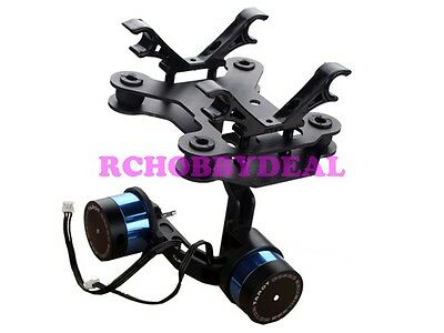 Tarot T-2D 2 Axis Camera Brushless Gimbal TL68A08 for Gopro Hero 3 FPV Free ship